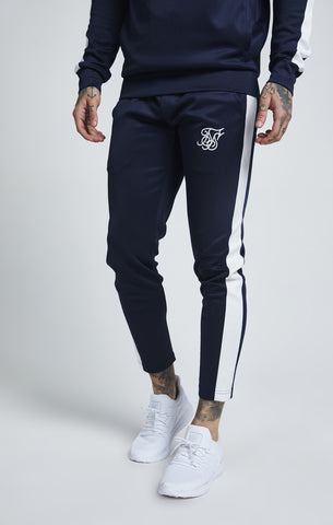 SikSilk Cropped Poly Racing Jogger
