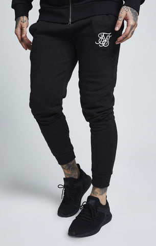 SikSilk Muscle Fit Jogger - Black