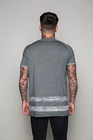 ACES Couture - Ludos Statement Tee Deep Grey