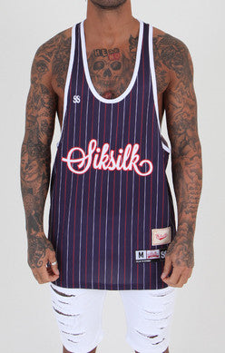 Sik Silk - French Stripe - Navy