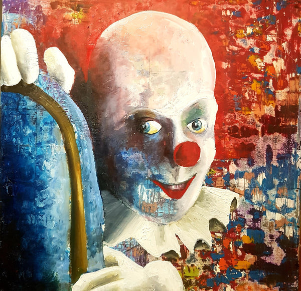 Clown 1 - Sjon de Groot