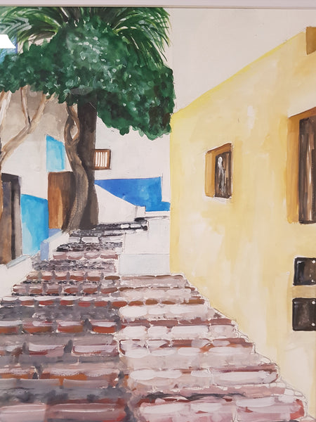 Morocco Alley 1 - Painting - Sjon de Groot