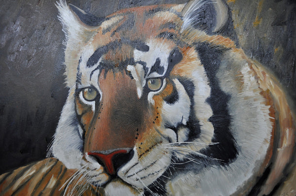Tiger - Painting - Sjon de Groot