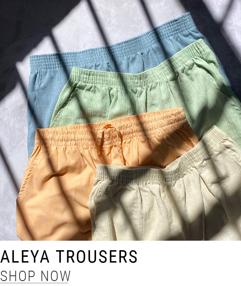 Shop Vintage Aleya Relaxed Trousers at North Workshop