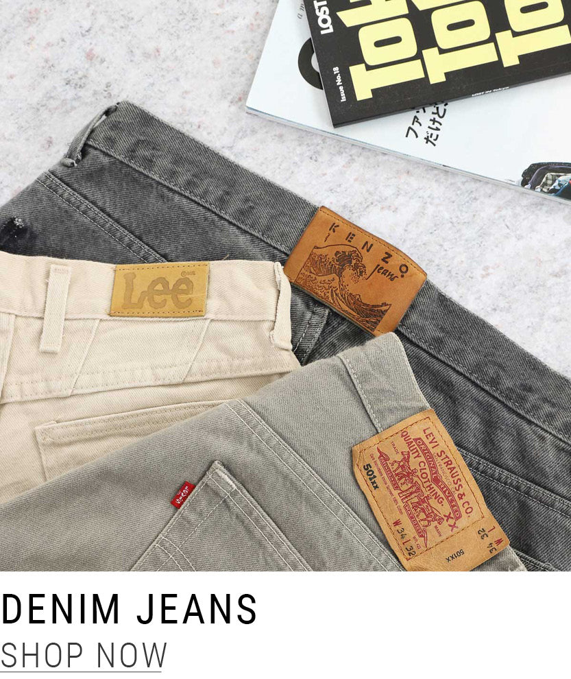 Shop Vintage Denim Jeans at North Workshop