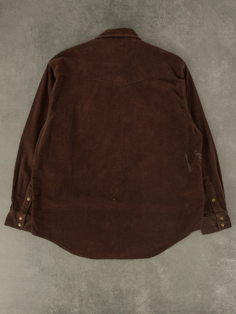 Men's Vintage Chaps Quarter Zip Knitted Jumper - Medium