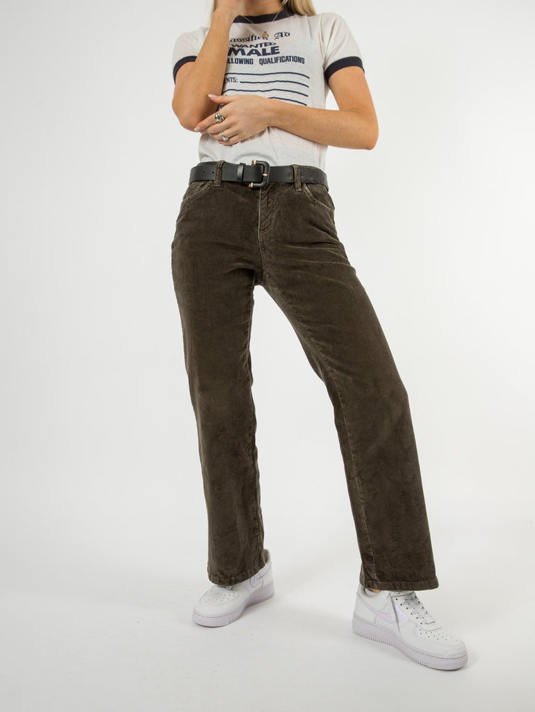 Women's Vintage Aleya Relaxed Trousers - X-Large