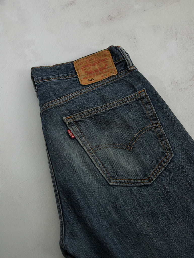 Men's Vintage Levi's 505 Denim Jeans - W32 X L32