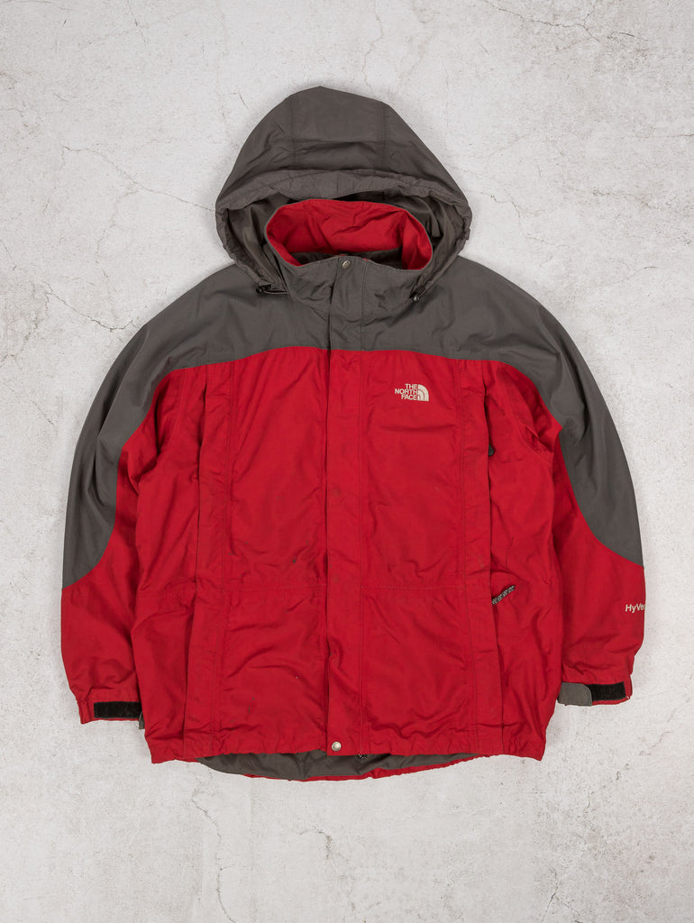 Men's Vintage The North Face Hooded Jacket - X-Large