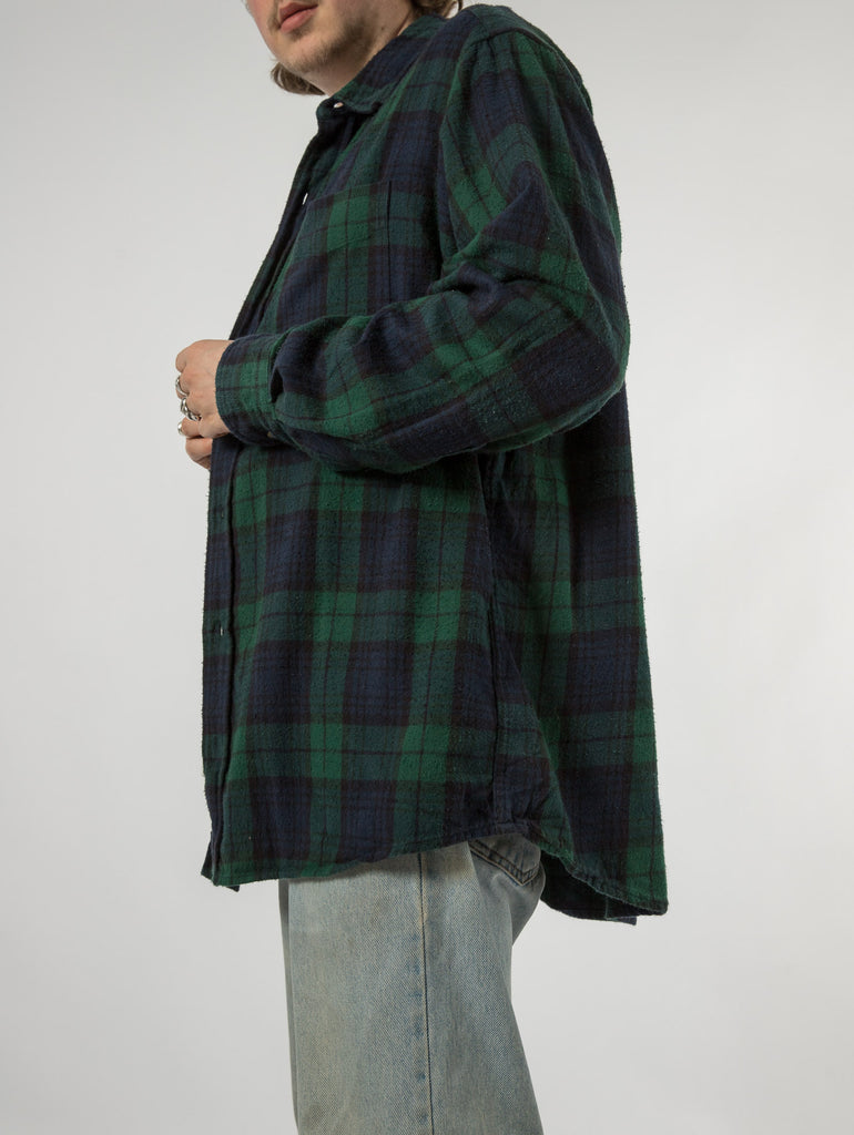 Men's Vintage Timberland Checked Shirt - Medium