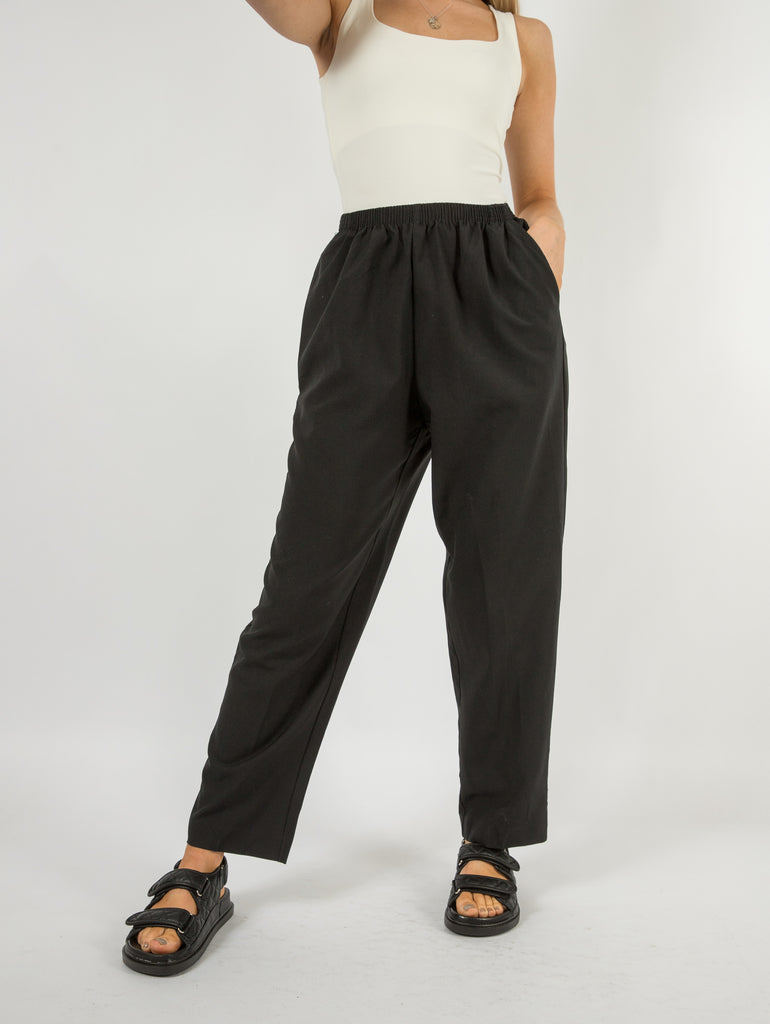 Women's Vintage Aleya Relaxed Trousers - Large