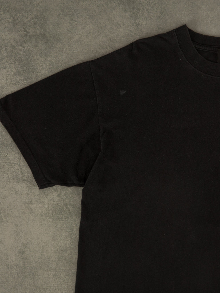 Men's Vintage Chaps Quarter Zip Knitted Jumper - X-Large