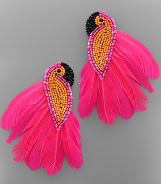 BIRD OF PARADISE EARRING