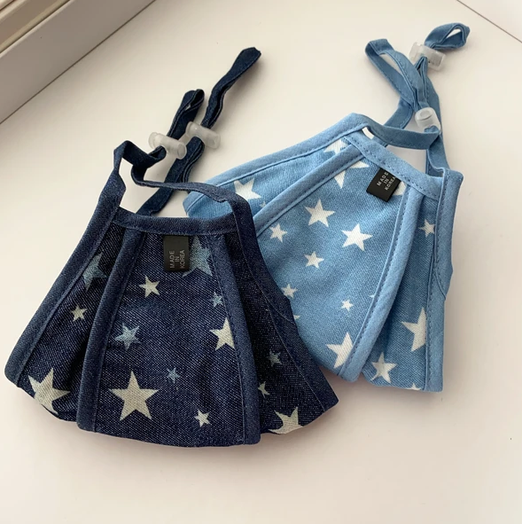 SEEING STARS DENIM FACE MASK