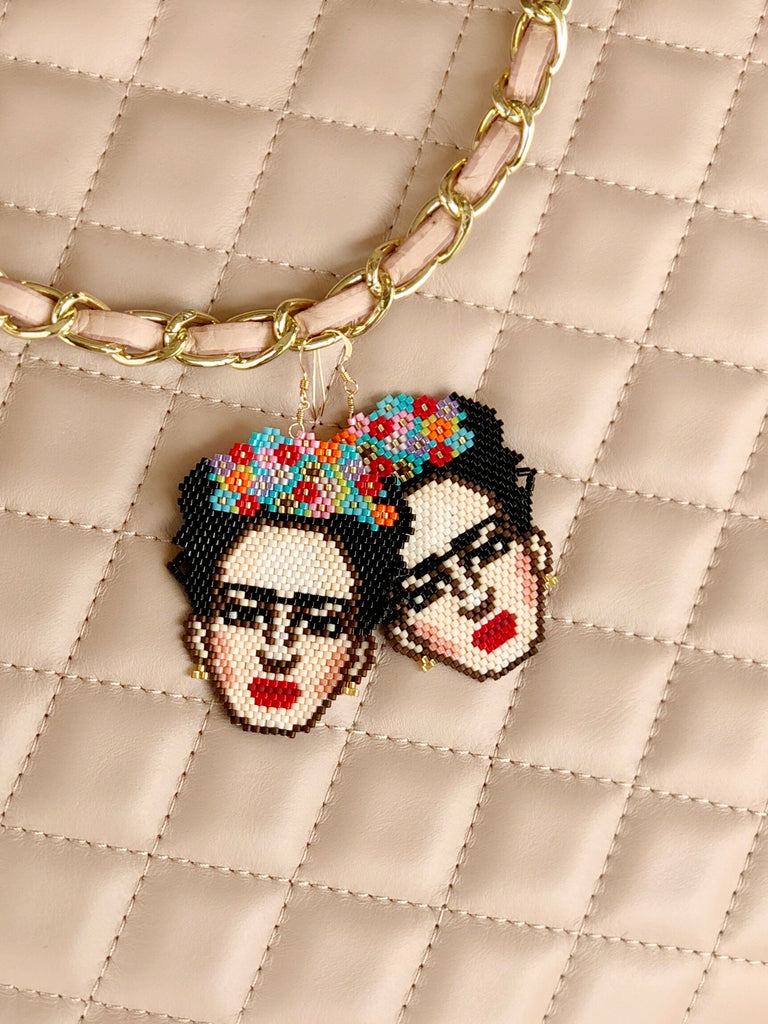 FRIDA BEADED EARRINGS