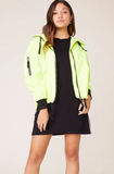 RING THE ALARM NEON YELLOW JACKET