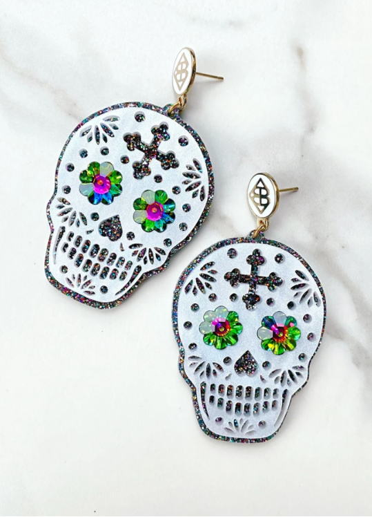 HALLOWEEN - SUGAR SKULL EARRING
