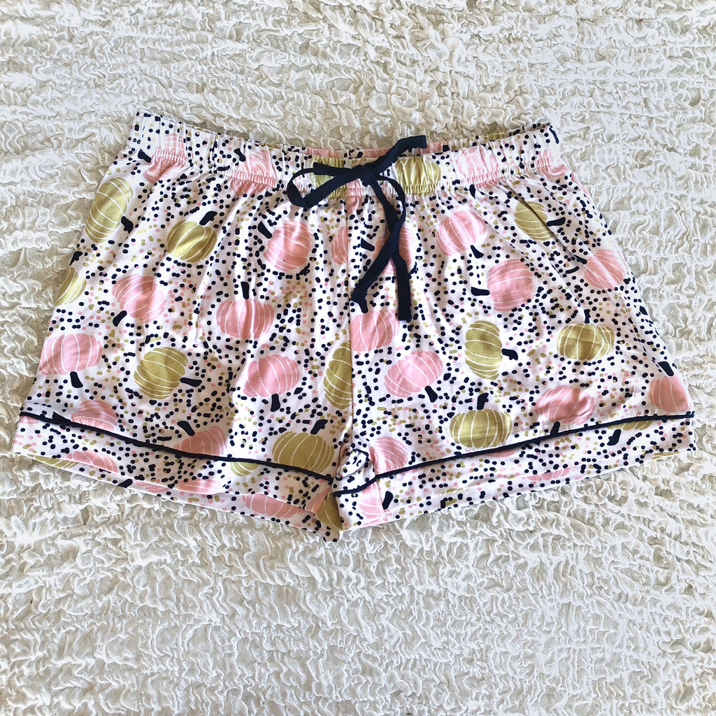 PUMPKIN PATCH SLEEP SHORTS