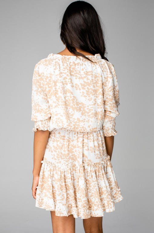BRONX COWHIDE DRESS