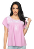 ANNISTON PINK EMBROIDERED TOP