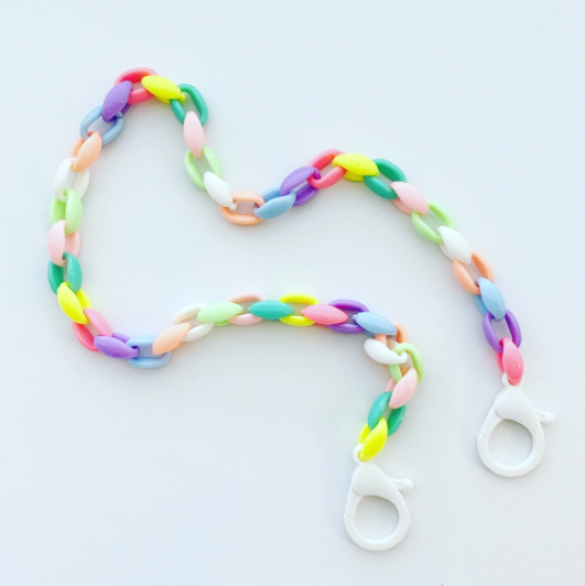 RAINBOW LINK MASK CHAIN