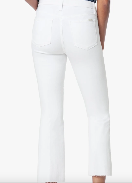 HI HONEY BOOTCUT HEM WHITE JEAN