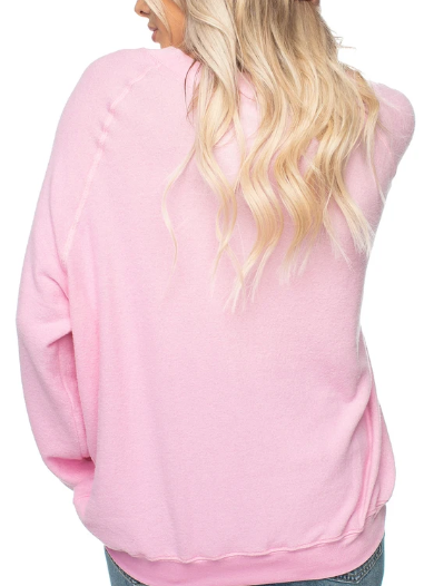 GIRLFRIENDS PINK SWEATSHIRT