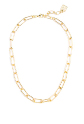 CLASSIC LINKS GOLD COLLAR NECKLACE