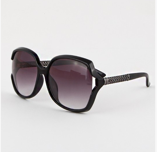 SQUARE QUILTED SIDE SUNGLASSES