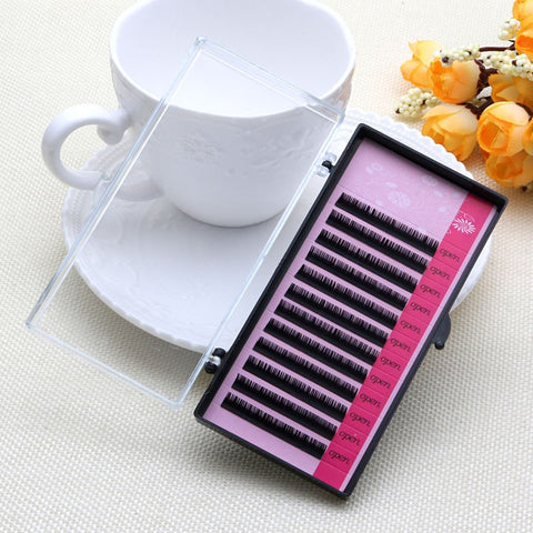 70aafc10eff 1 PCS Eyelash Extensions Mink Blink Lashes Tray Lash 0.07mm C Curl Ind –  Grace and Elegance