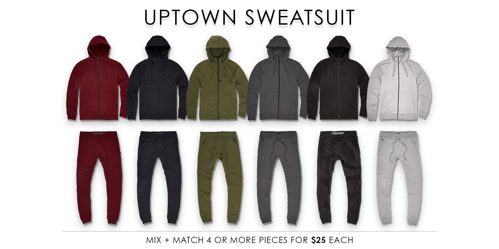 Uptown Sweatsuit Collection
