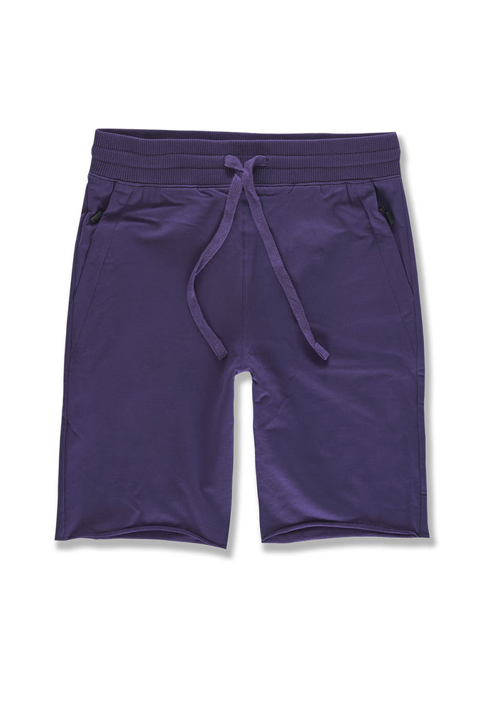 Palma French Terry Shorts (Purple)