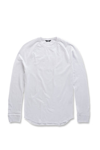 Bushwick Raglan Top (White)
