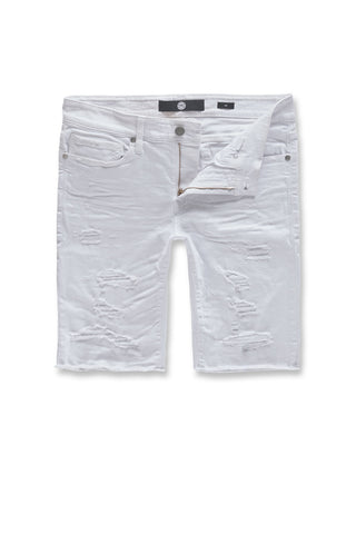 Jordan Craig - Big Men's Ortley Twill Shorts (White)