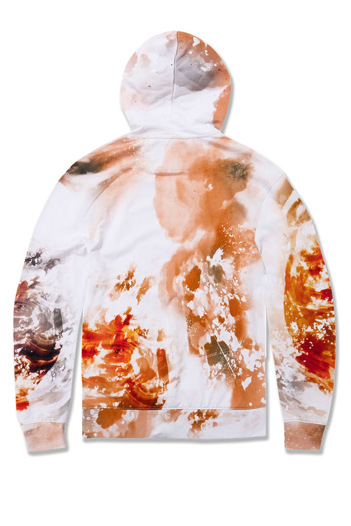 Fire & Embers Pullover Hoodie (Cream)
