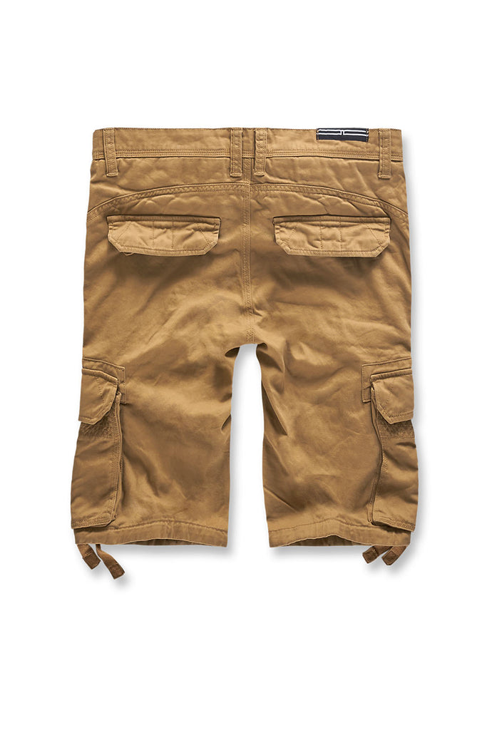 Jordan Craig - Big Men's Bedrock Cargo Shorts (Wheat)