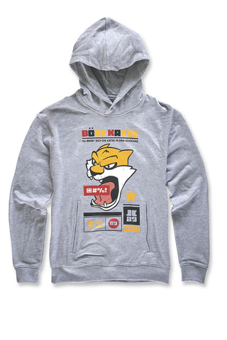 Jordan Craig - Bad Cat Pullover Hoodie (Heather Grey)