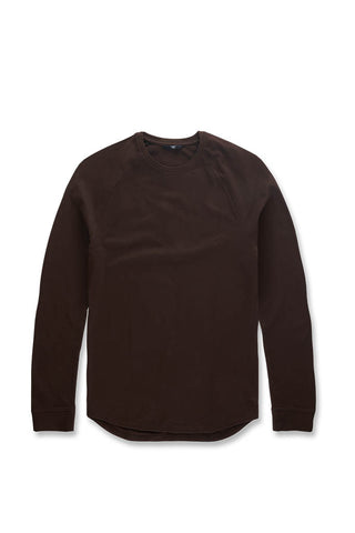 Bushwick Raglan Top (Brown)