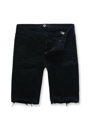 Jordan Craig - Big Men's Newcastle Twill Shorts (Jet Black)