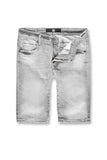 Newcastle Denim Shorts (Light Grey)