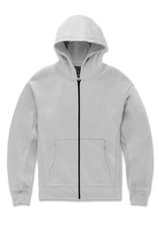 JCA Zip Up Hoodie (Cement)
