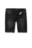 Cutoff Denim Shorts (Black Shadow)