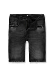Newcastle Denim Shorts (Black Shadow)
