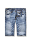 Newcastle Denim Shorts (Medium Blue)