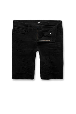Jordan Craig - Big Men's Ortley Twill Shorts (Jet Black)