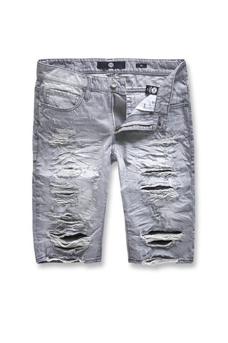 Jordan Craig - Belmar Denim Shorts (Cement Wash)