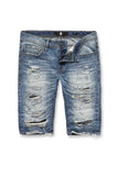 Jordan Craig - Belmar Denim Short (Medium Blue)