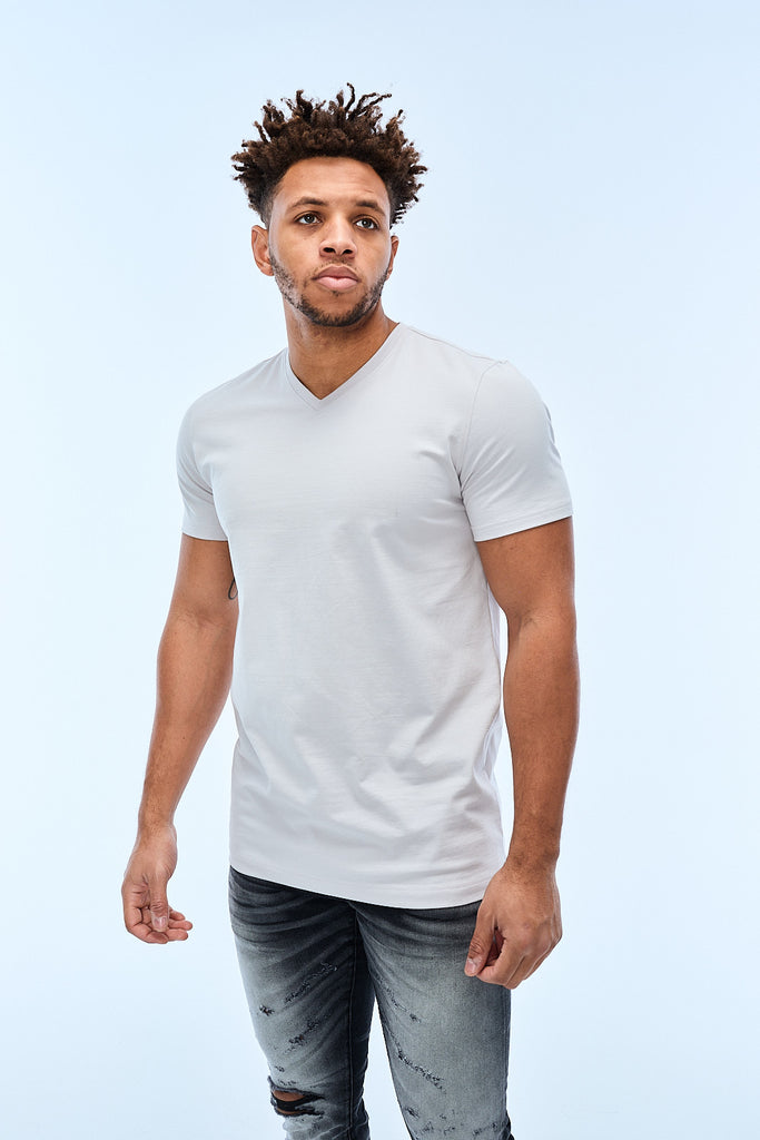Jordan Craig - Premium V-Neck T-Shirt (Cement Wash)