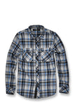 Tacoma Flannel Shirt (Navy)