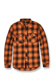 Tacoma Flannel Shirt (Burnt Orange)